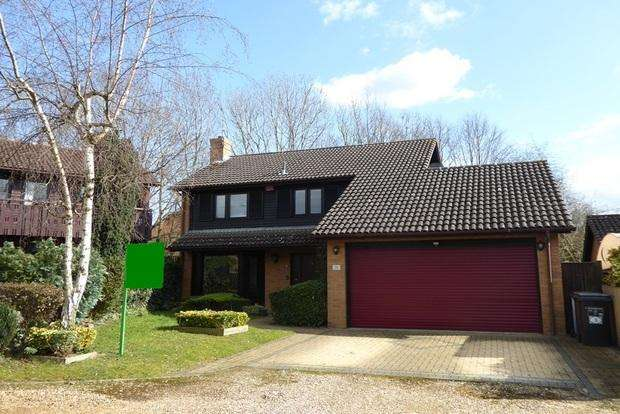 4 Bedrooms Detached House for sale in Sarek Park, West Hunsbury, Northampton, NN4