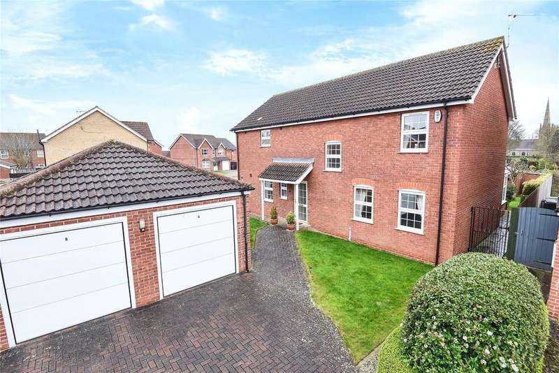 4 Bedrooms Detached House for sale in Cardinal Close, Quarrington, NG34