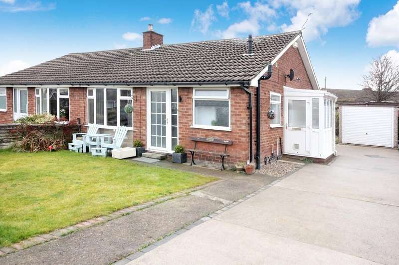 2 Bedrooms Semi Detached Bungalow for sale in 20 Buttermere Drive Rawcliffe York YO30 5TQ