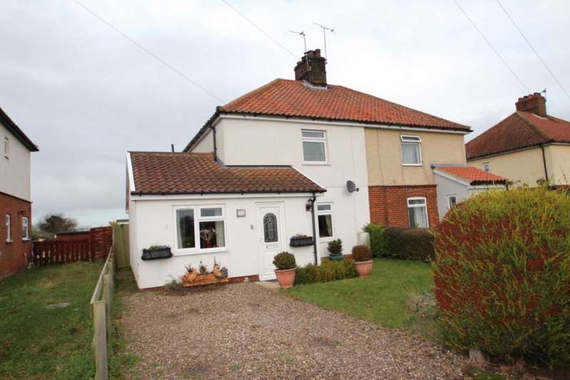 3 Bedrooms Semi Detached House for sale in Church Road, Reedham