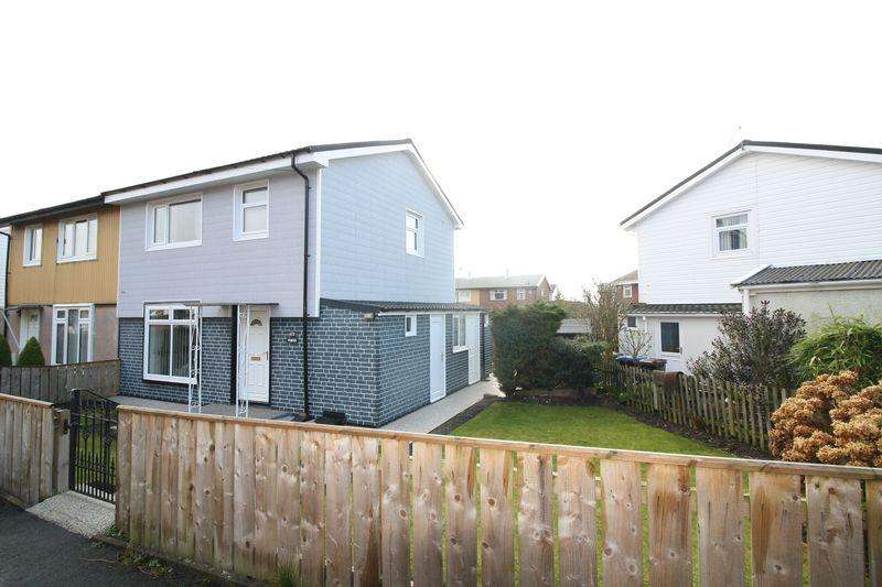 3 Bedrooms Semi Detached House for sale in Oak Road, Peterlee