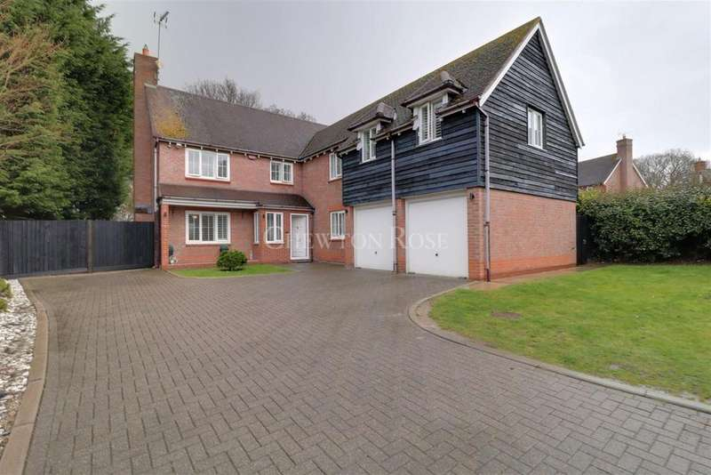 6 Bedrooms Detached House for sale in Tempest Mead,North Weald,Epping