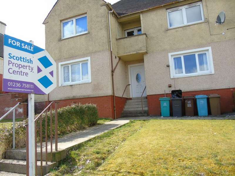 3 Bedrooms Flat for sale in Lomond Road, Townhead, Coatbridge, North Lanarkshire, ML5