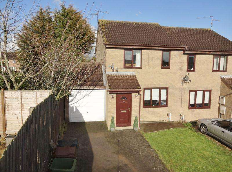3 Bedrooms Semi Detached House for sale in Beech Close, Corby
