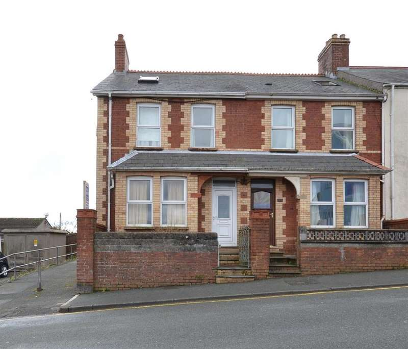 3 Bedrooms End Of Terrace House for sale in St. Annes Road, Hakin, Milford Haven