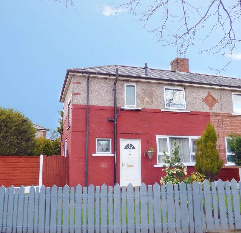 3 Bedrooms Semi Detached House for sale in Boarshaw Road, Middleton, Manchester, M24