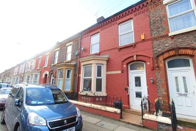 3 Bedrooms Terraced House for sale in Wylva Road, Anfield, Liverpool