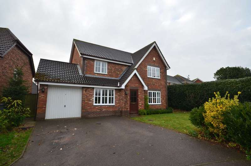 4 Bedrooms Detached House for sale in Culverin Close, Dussindale
