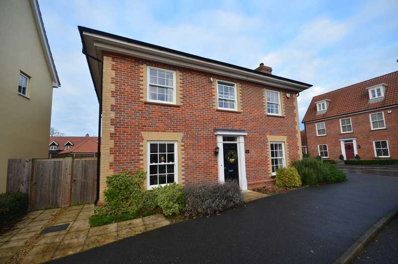 4 Bedrooms Detached House for sale in Macmillan Way, Little Plumstead