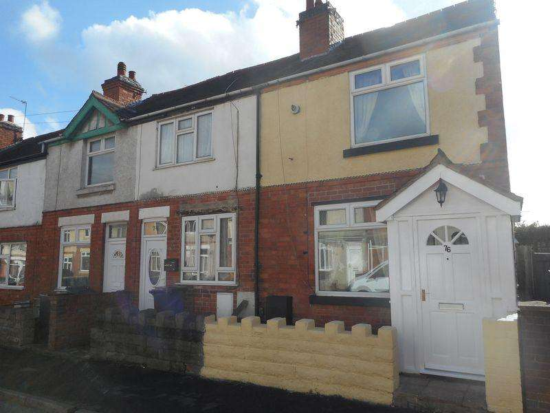 2 Bedrooms Terraced House for sale in Clifton Road, Nuneaton