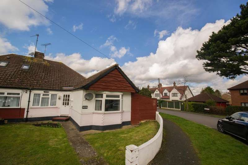 2 Bedrooms Semi Detached Bungalow for sale in Shelley Road, Hutton, Brentwood, Essex, CM13