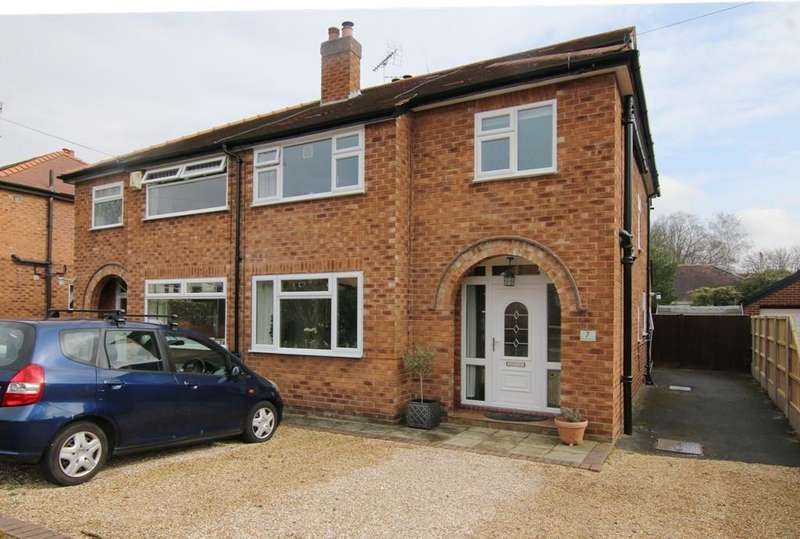 4 Bedrooms Semi Detached House for sale in Sandrock Road, Christleton