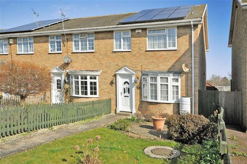 3 Bedrooms End Of Terrace House for sale in Kingfisher Court, Herne Bay, Kent
