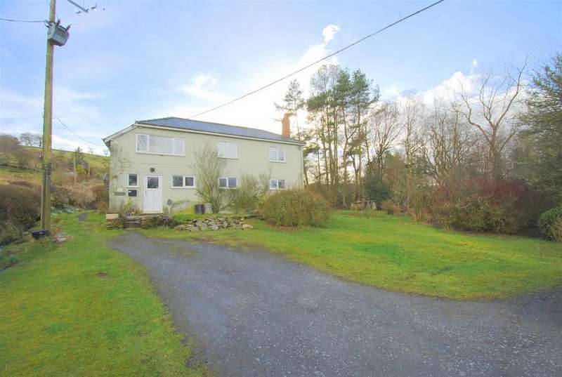 4 Bedrooms Detached House for sale in Tylwch, Llanidloes