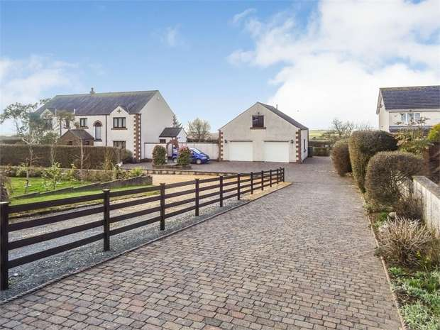 4 Bedrooms Detached House for sale in Thorntrees Drive, Thornhill, Egremont, Cumbria