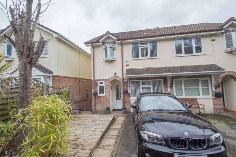 3 Bedrooms Semi Detached House for sale in Higher Compton, Plymouth