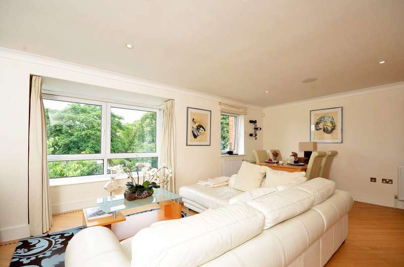 2 Bedrooms Flat for sale in Campden House, Wimbledon, SW19