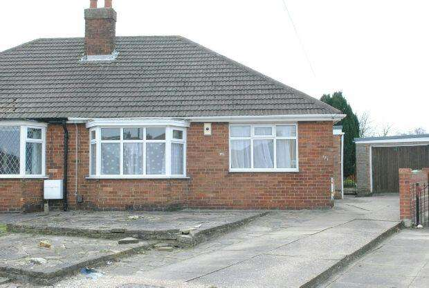 2 Bedrooms Semi Detached Bungalow for sale in The Ridgeway, Grimsby