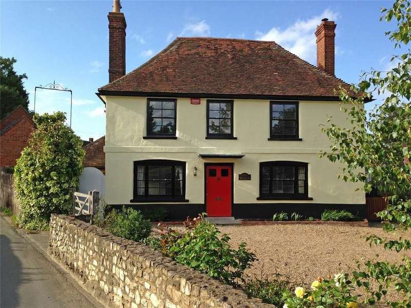 5 Bedrooms Detached House for sale in Church Road, Offham, Nr. West Malling, Kent, ME19