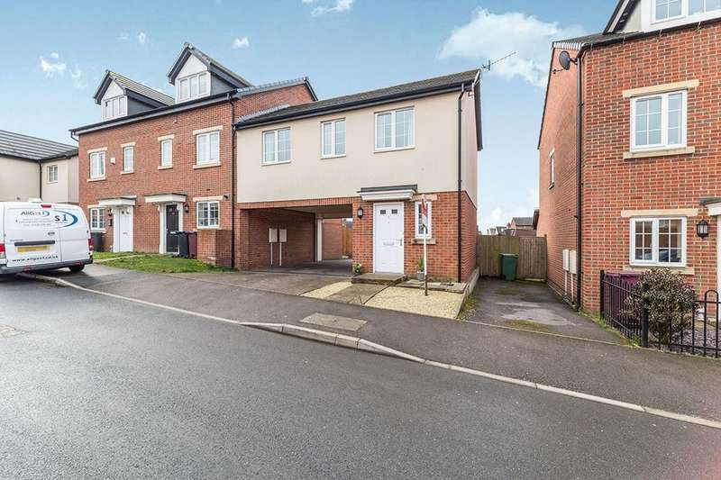 2 Bedrooms Property for sale in Croft House Way, CHESTERFIELD, S44