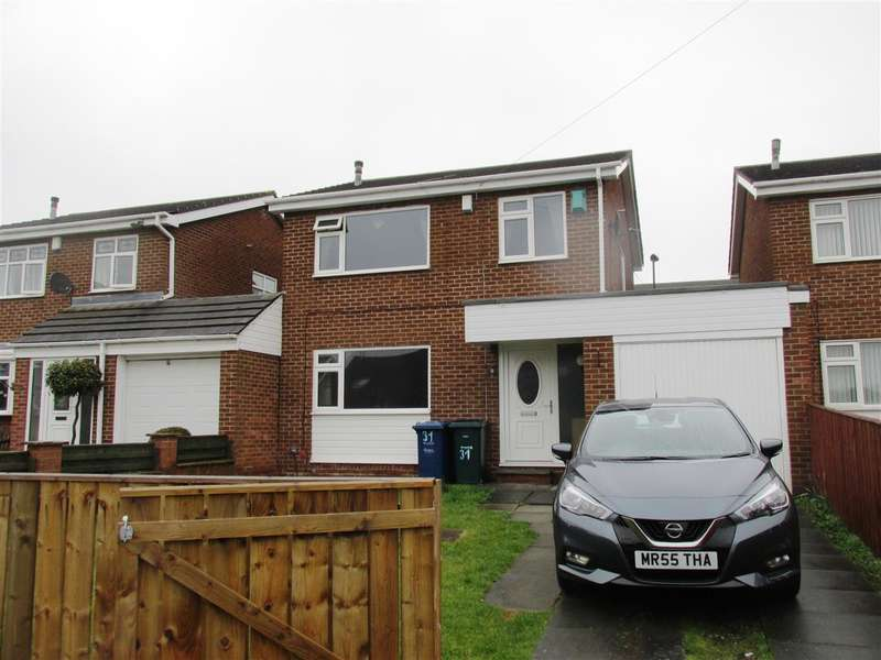 3 Bedrooms Link Detached House for sale in Marsham Close, Newcastle upon Tyne