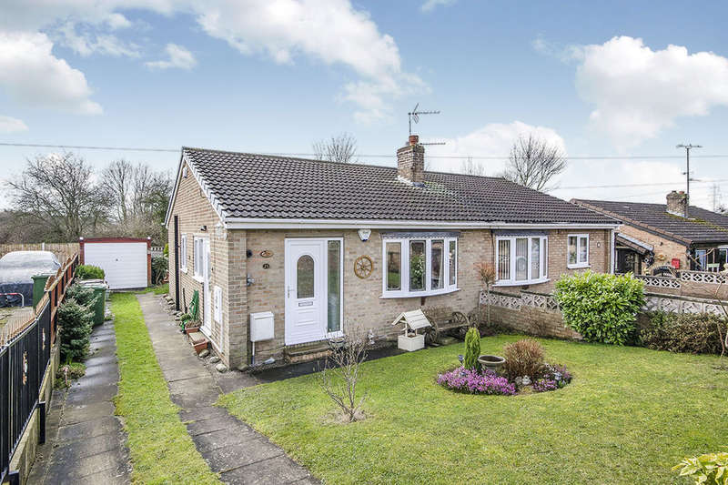 2 Bedrooms Semi Detached Bungalow for sale in Barnsdale Way, Upton, Pontefract, WF9