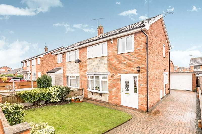 3 Bedrooms Semi Detached House for sale in Melford Drive, Doncaster, DN4