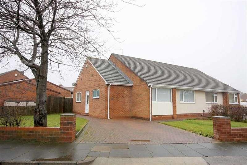 2 Bedrooms Semi Detached Bungalow for sale in Hampton Road, Marden Farm Estate, Tyne And Wear, NE30