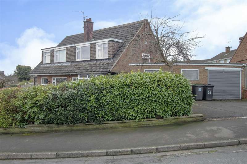 3 Bedrooms Semi Detached House for sale in Blake Road, Stapleford