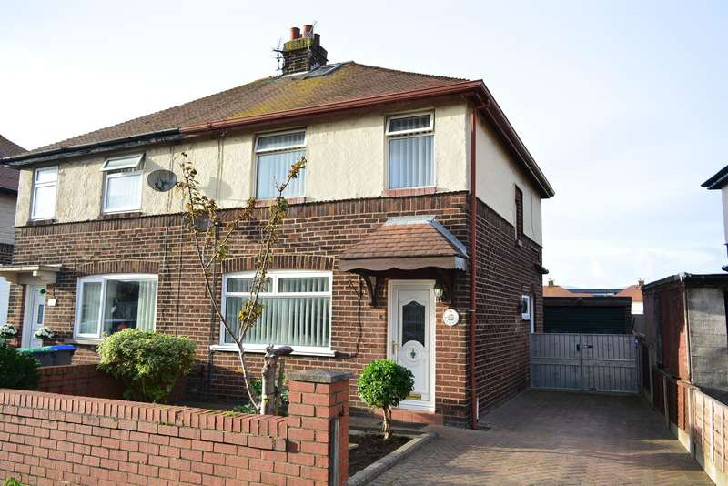 3 Bedrooms Semi Detached House for sale in Kingsmede, South Shore, Blackpool, FY4 3NW