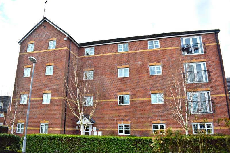 2 Bedrooms Flat for sale in 16 Larch Gardens, Manchester, M8 8BJ