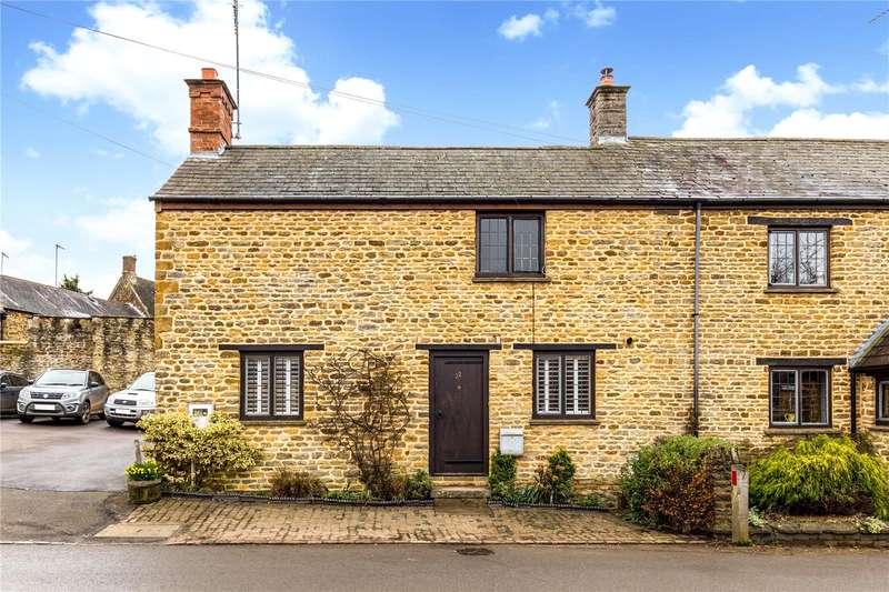 3 Bedrooms Semi Detached House for sale in Bulls Lane, Kings Sutton, Banbury, Northamptonshire, OX17