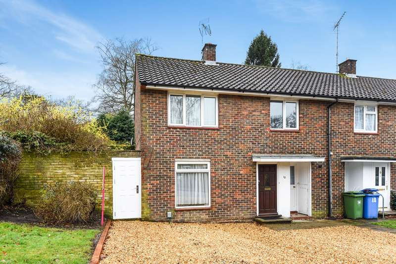 3 Bedrooms End Of Terrace House for sale in Manston Drive, Bracknell, RG12