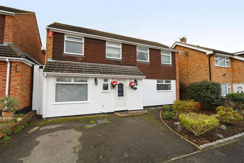 4 Bedrooms Detached House for sale in Gilbert Close , Rayleigh, Essex