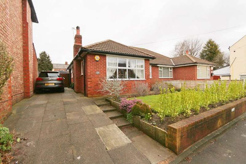 2 Bedrooms Semi Detached Bungalow for sale in Liverpool Road, Irlam