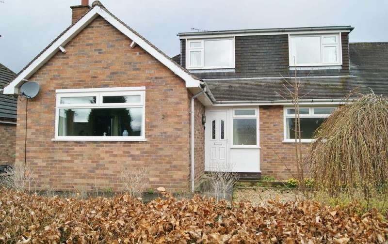 2 Bedrooms Semi Detached Bungalow for sale in Annefield Park, Gresford