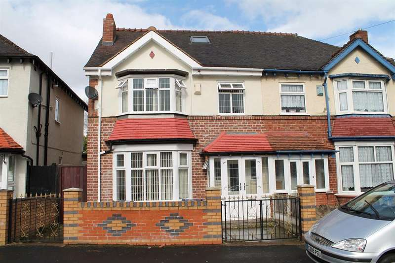 6 Bedrooms Semi Detached House for sale in Upper Grosvenor, Birmingham, B20 3RY
