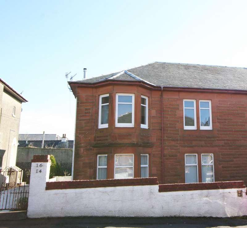 2 Bedrooms Flat for sale in 16 Hutcheson Drive, Largs, KA30 8EE