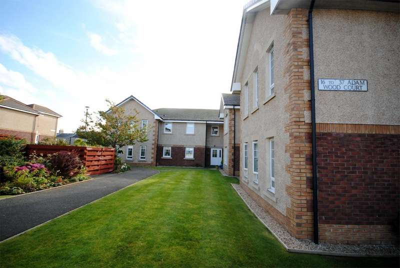2 Bedrooms Retirement Property for sale in 25 Adam Wood Court, Troon, KA10 6BP