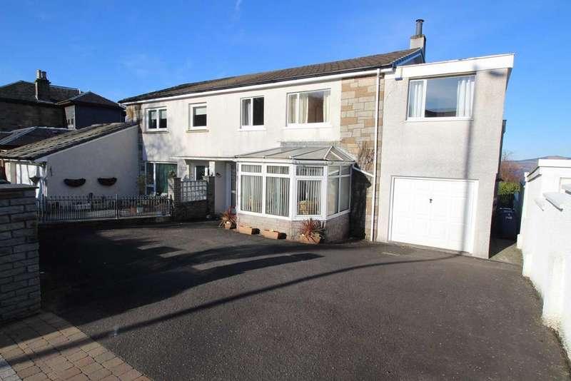 4 Bedrooms Semi Detached House for sale in 140 Newton Street, Greenock, PA16 8SJ
