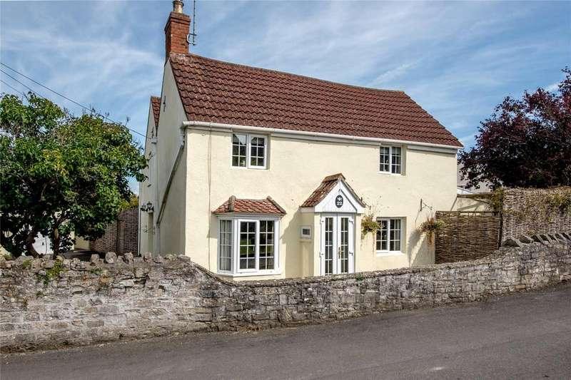4 Bedrooms Detached House for sale in Manor Road, Catcott, Bridgwater, Somerset