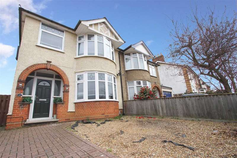 3 Bedrooms Semi Detached House for sale in Felixstowe Road, Ipswich