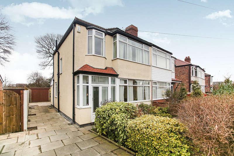 3 Bedrooms Semi Detached House for sale in Dorrington Road, Stockport, SK3