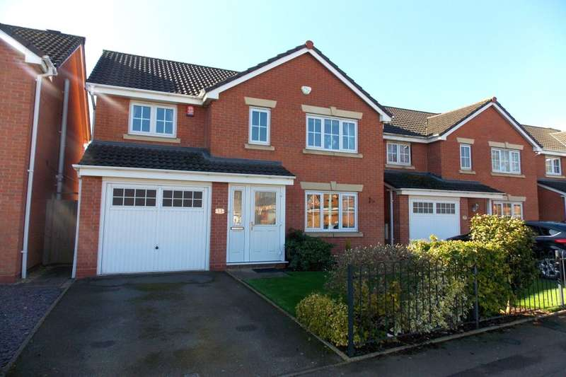 4 Bedrooms Detached House for sale in Longmeadow Crescent, Shard End, Birmingham, B34