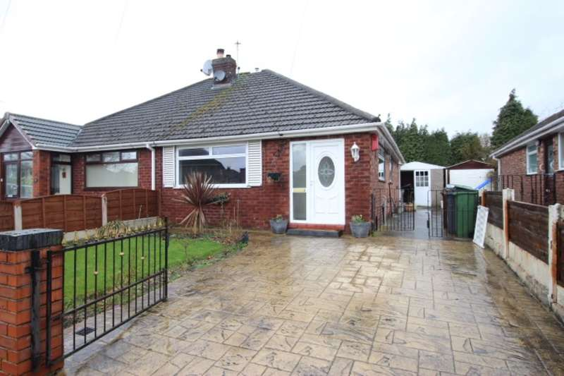 2 Bedrooms Semi Detached Bungalow for sale in Sherwood Road, Denton, Manchester, M34