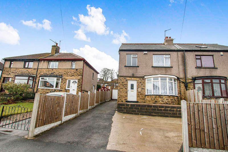 3 Bedrooms Semi Detached House for sale in Hollybank Gardens, BRADFORD, BD7