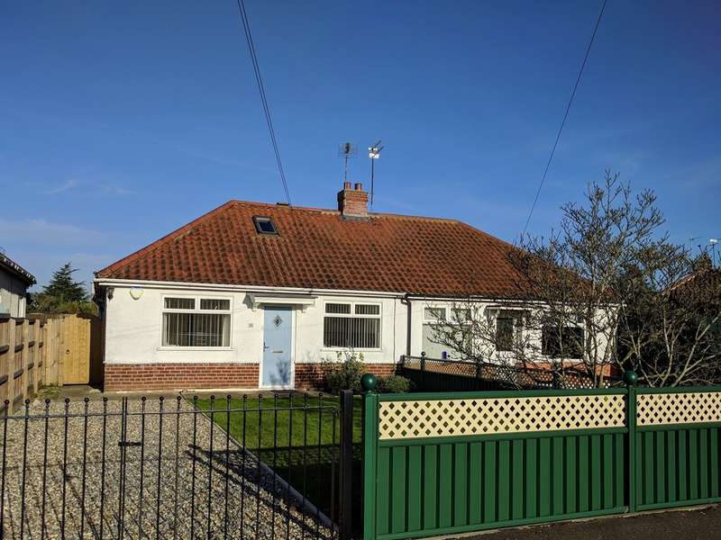 2 Bedrooms Semi Detached Bungalow for sale in Thor Close, Norwich