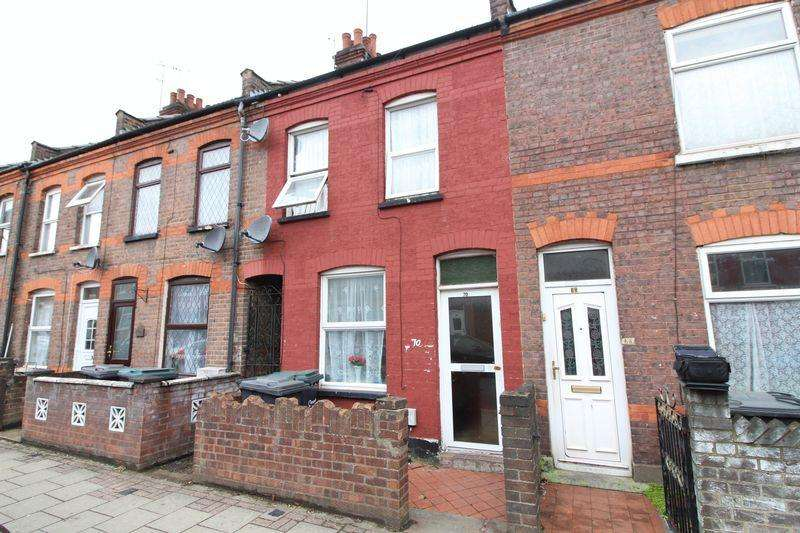 2 Bedrooms Terraced House for sale in Traditional Home on Oak Road, Luton