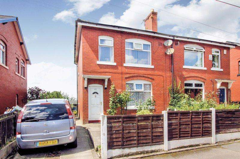3 Bedrooms Semi Detached House for sale in Hazel Avenue, Bury