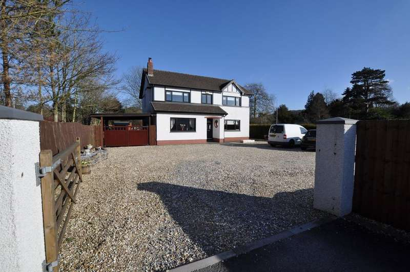 4 Bedrooms Detached House for sale in Tyr Osaf, Parc Close, Abergwili, Carmarthen